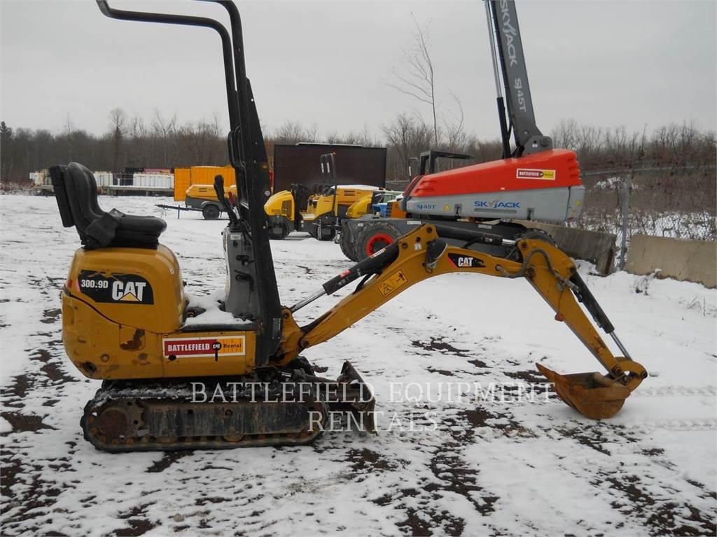 Caterpillar 300.9D, Excavadoras de cadenas, Construcción