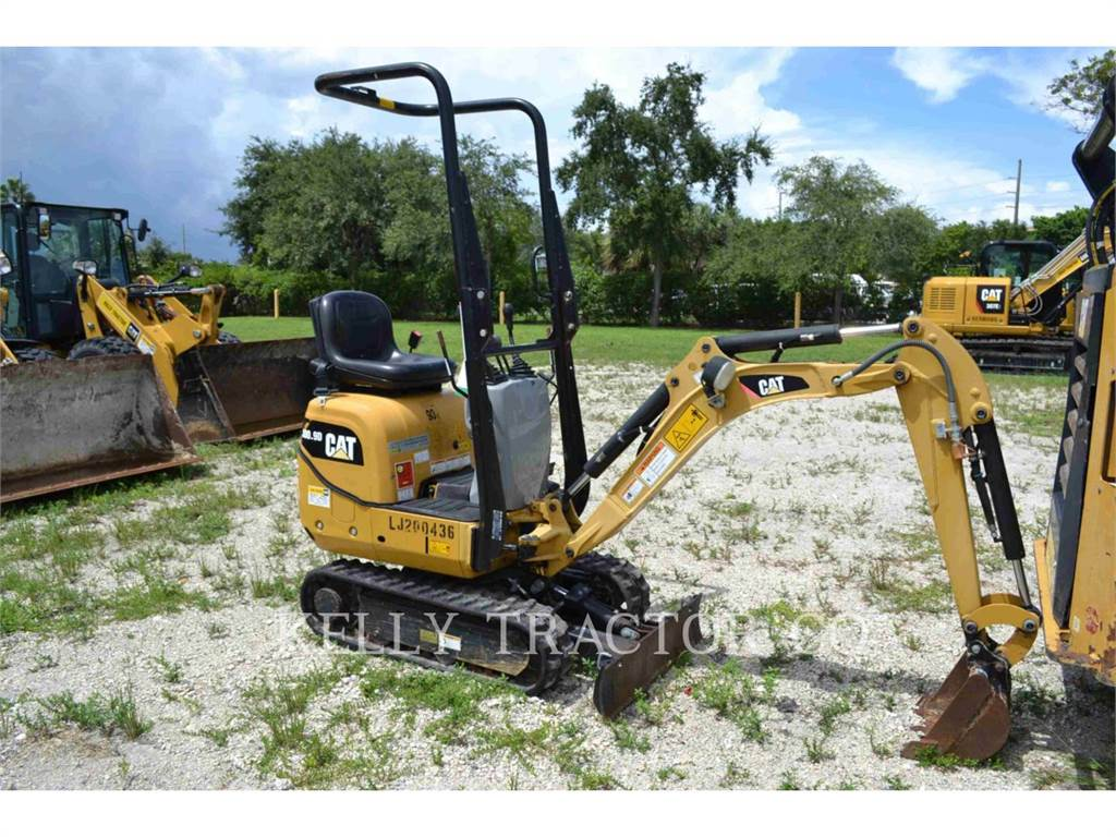 Caterpillar 300.9D, Crawler Excavators, Construction