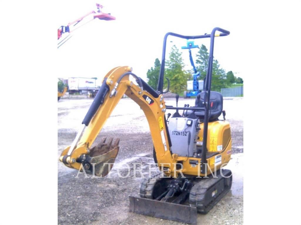 Caterpillar 300.9D VPS, Crawler Excavators, Construction