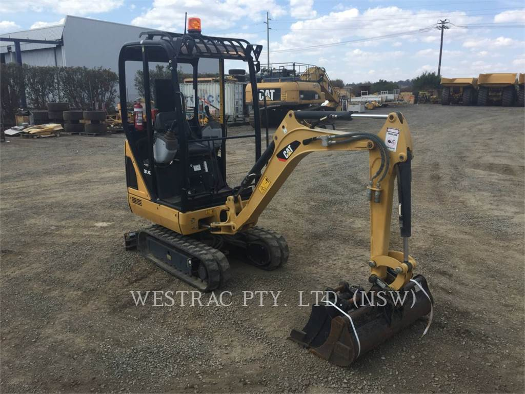 Caterpillar 301.4C, Crawler Excavators, Construction
