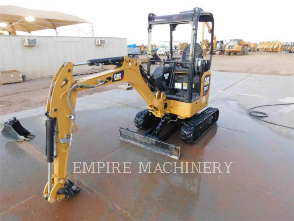 Caterpillar 301.7-05, Crawler Excavators, Construction