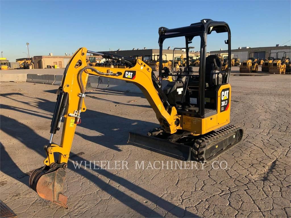 Caterpillar 301.7-05A, Escavadoras de rastos, Equipamentos Construção