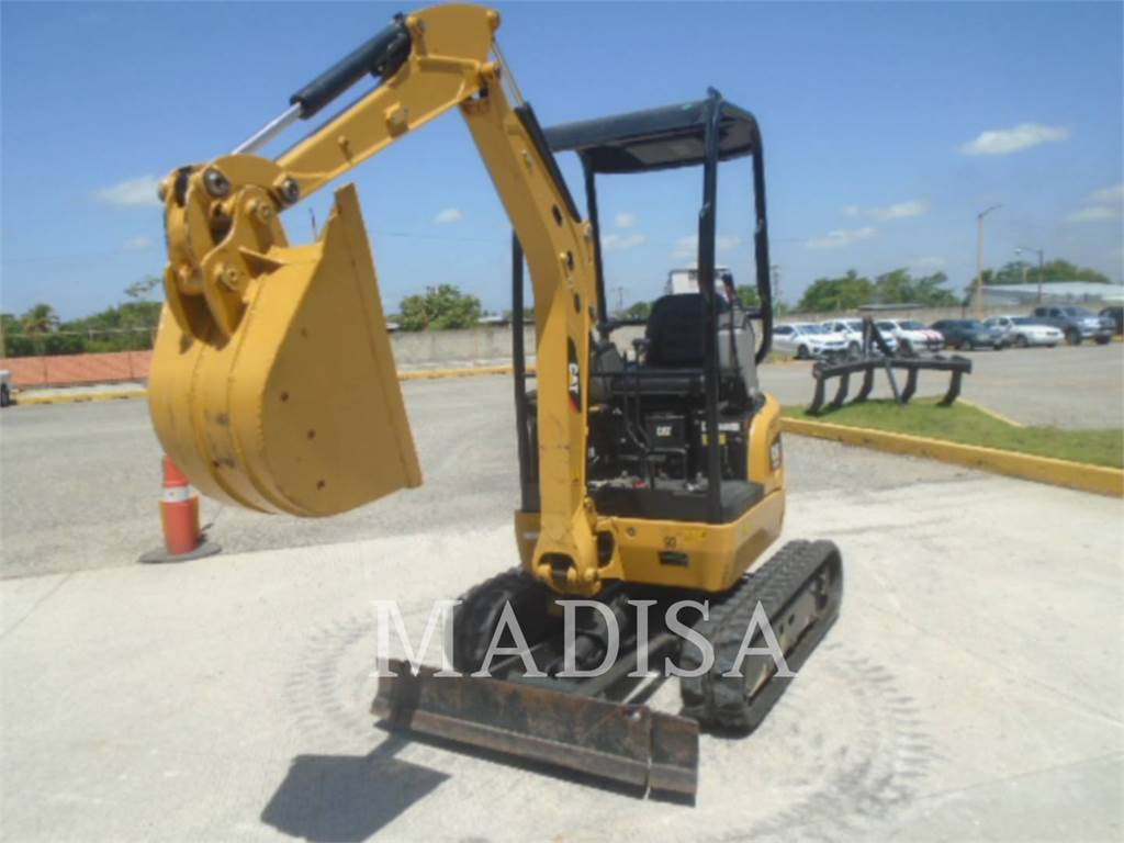 Caterpillar 301.7 D CR, Crawler Excavators, Construction
