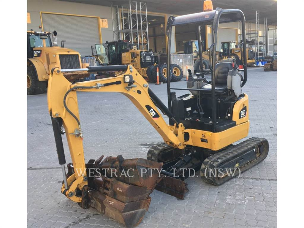 Caterpillar 301.7 D CR, Crawler Excavators, Construction