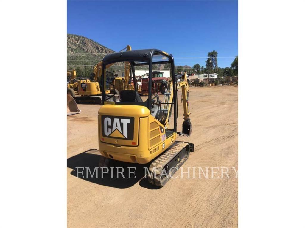 Caterpillar 301.7D、クローラー式油圧ショベル(パワーショベル・ユンボ)、建設