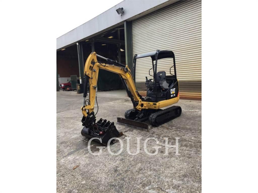 Caterpillar 301.7D, Escavadoras de rastos, Equipamentos Construção