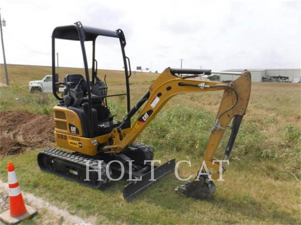 Caterpillar 301.7D, Escavatori cingolati, Attrezzature Da Costruzione
