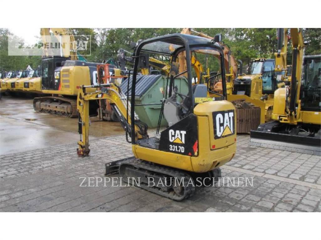 Caterpillar 301.7D, Excavatoare pe senile, Constructii