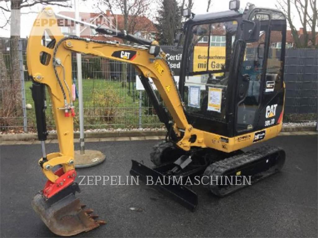 Caterpillar 301.7D、履带挖掘机、建筑设备