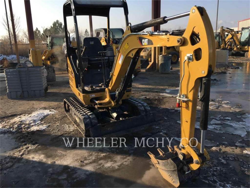 Caterpillar 301.7D C1, Crawler Excavators, Construction