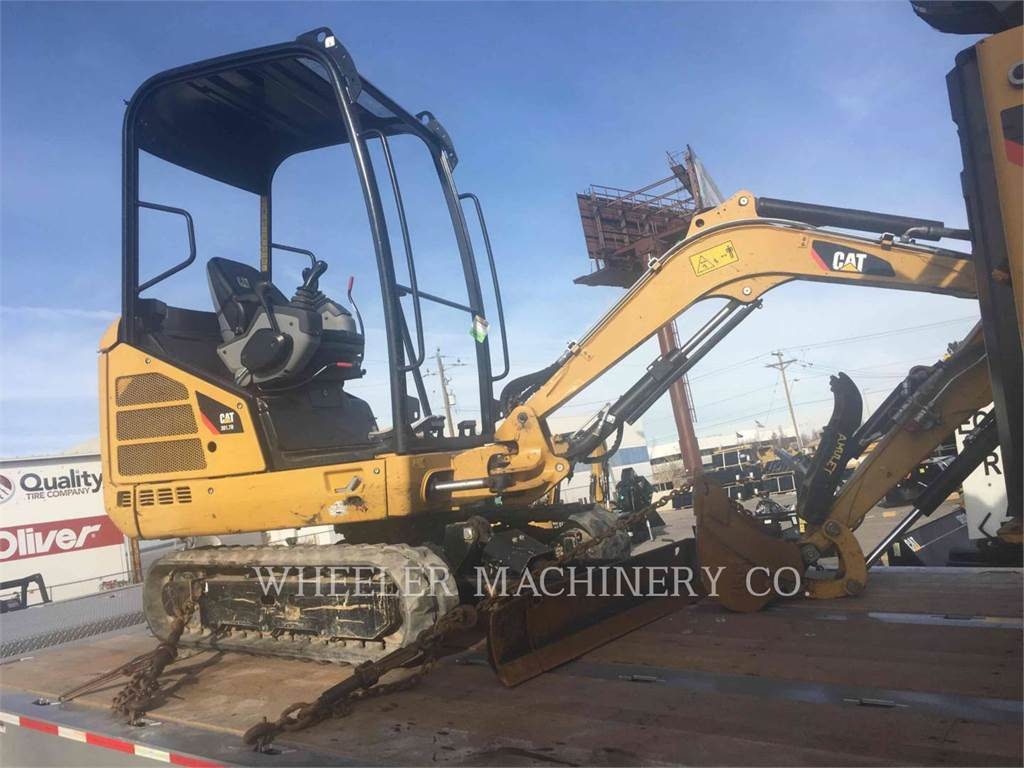 Caterpillar 301.7D C1T, Crawler Excavators, Construction