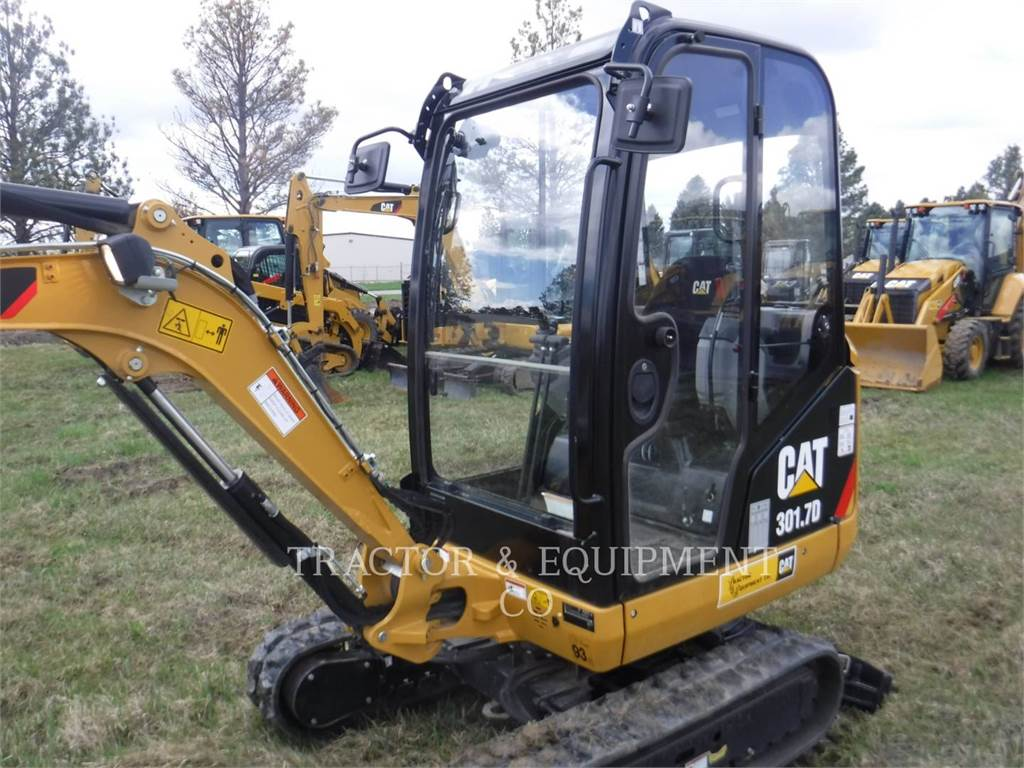 Caterpillar 301.7D CB, Crawler Excavators, Construction