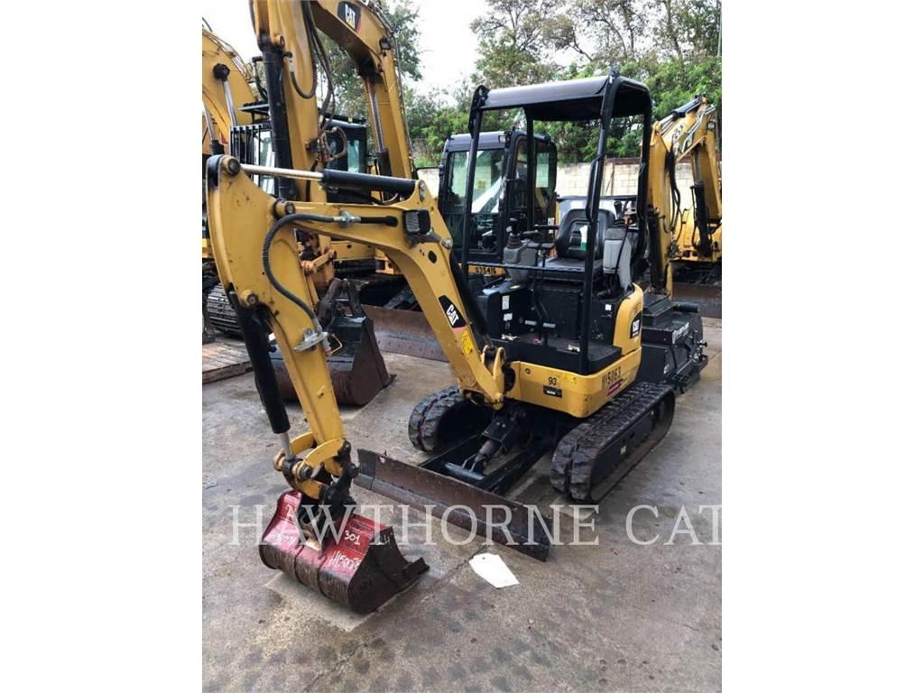 Caterpillar 301.7D CR, Escavadoras de rastos, Equipamentos Construção