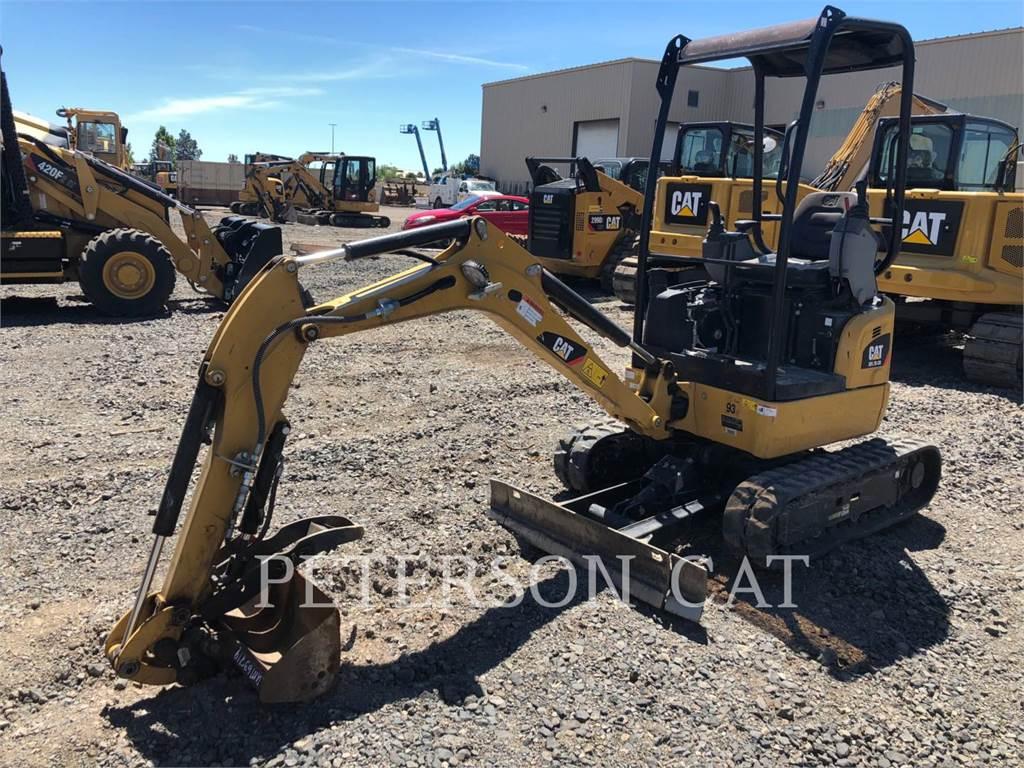Caterpillar 301.7D CR, Crawler Excavators, Construction