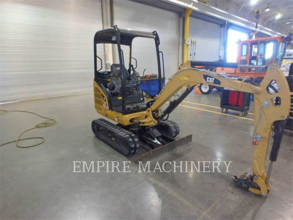 Caterpillar 301.7D, Crawler Excavators, Construction