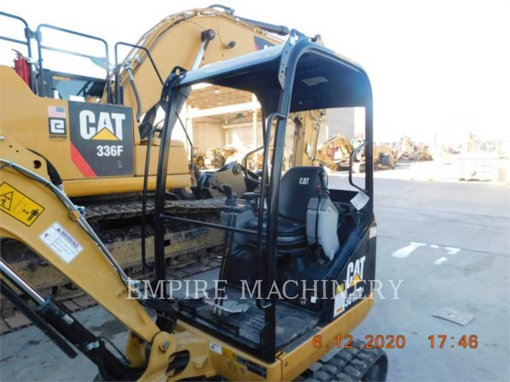 Caterpillar 301.7D OR, Rupsgraafmachines, Bouw