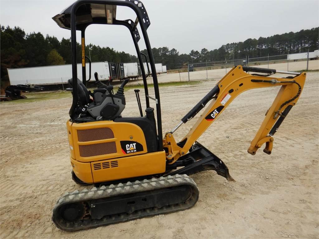 Caterpillar 301.7DCR, Pelle sur chenilles, Équipement De Construction