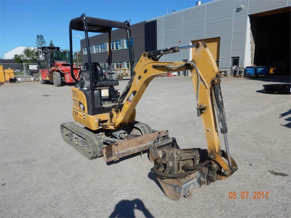 Caterpillar 301.7DCR, Crawler Excavators, Construction