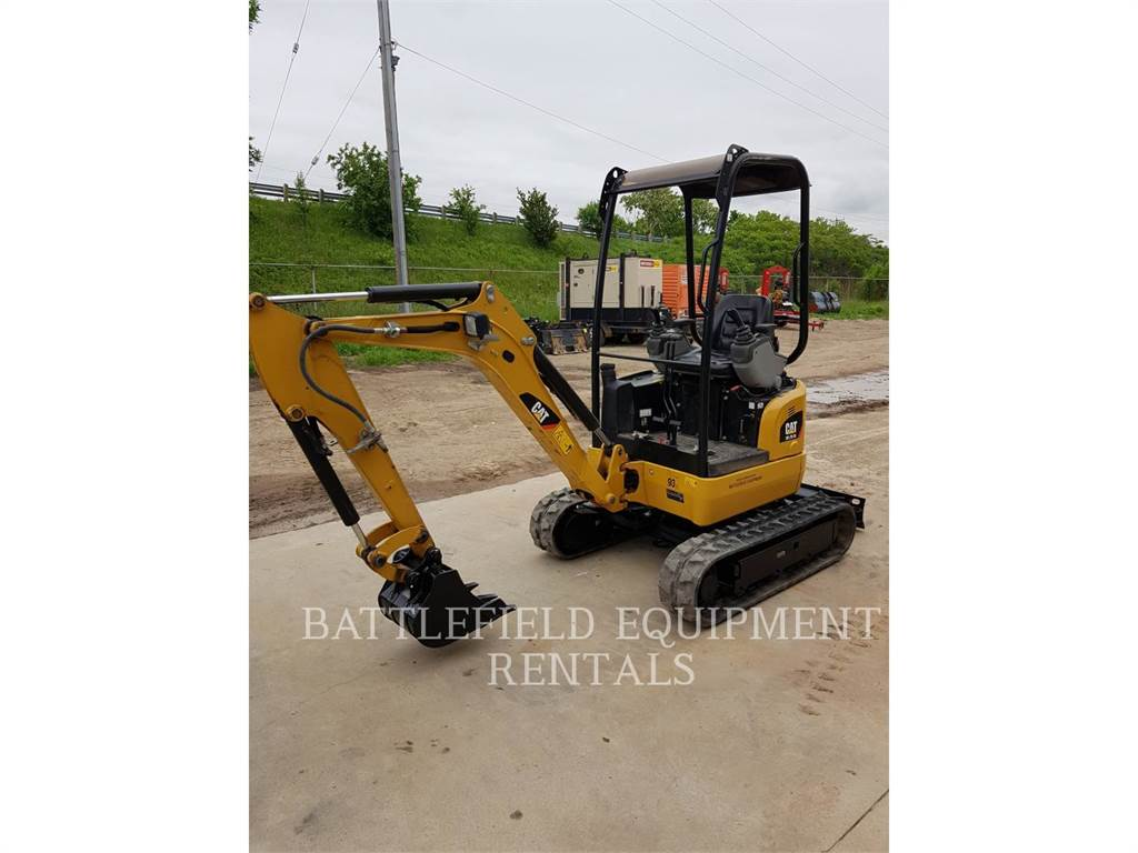 Caterpillar 301.7DCR, Crawler Excavators, Construction