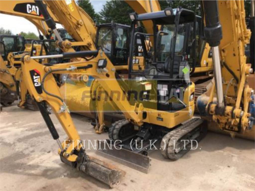 Caterpillar 301.7DCR、履带挖掘机、建筑设备