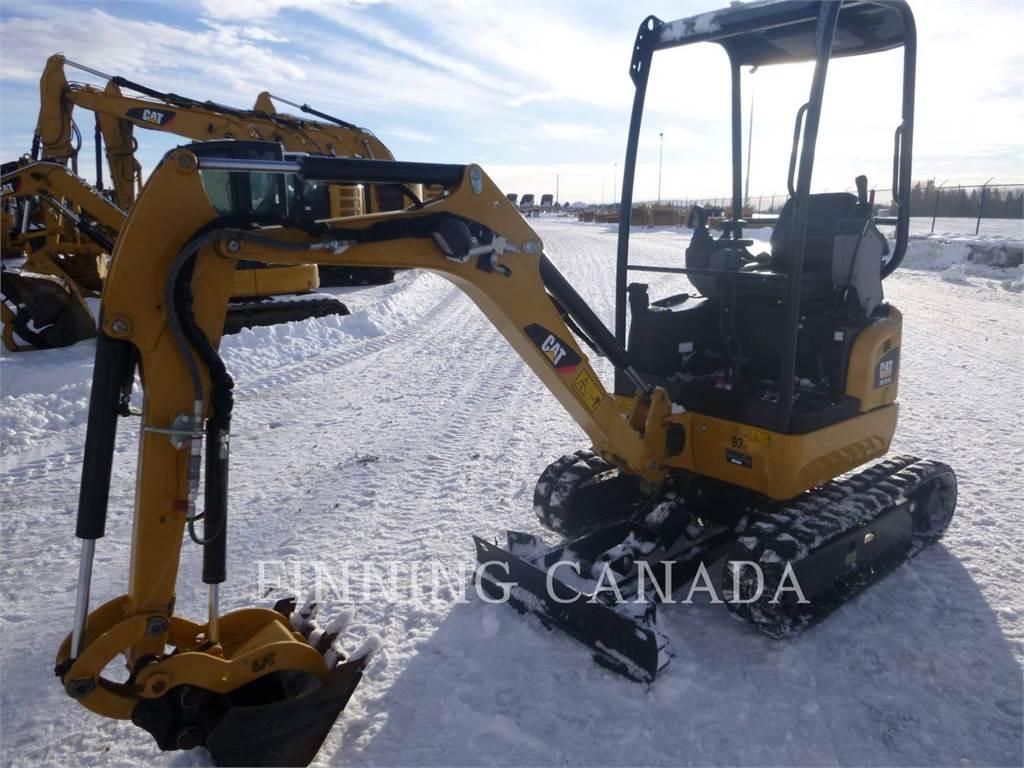 Caterpillar 301.7DCR, Excavadoras de cadenas, Construcción