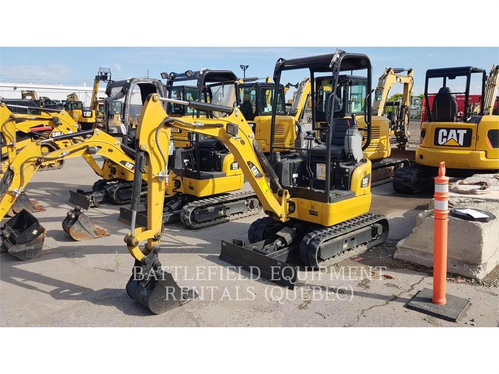 Caterpillar 301.7DCR, Escavadoras de rastos, Equipamentos Construção