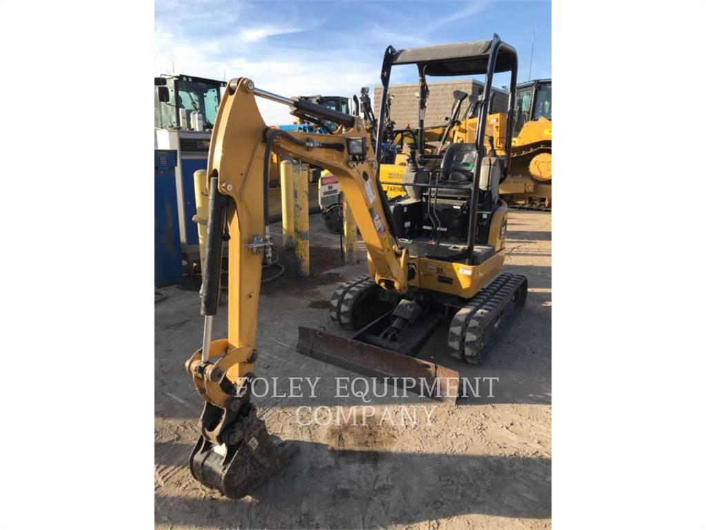 Caterpillar 301.7DCRLO、履带挖掘机、建筑设备