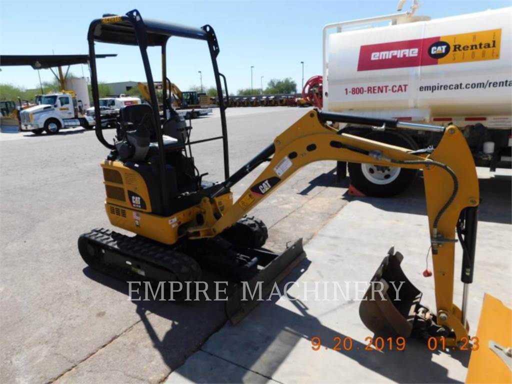 Caterpillar 301.7DCROR, Crawler Excavators, Construction
