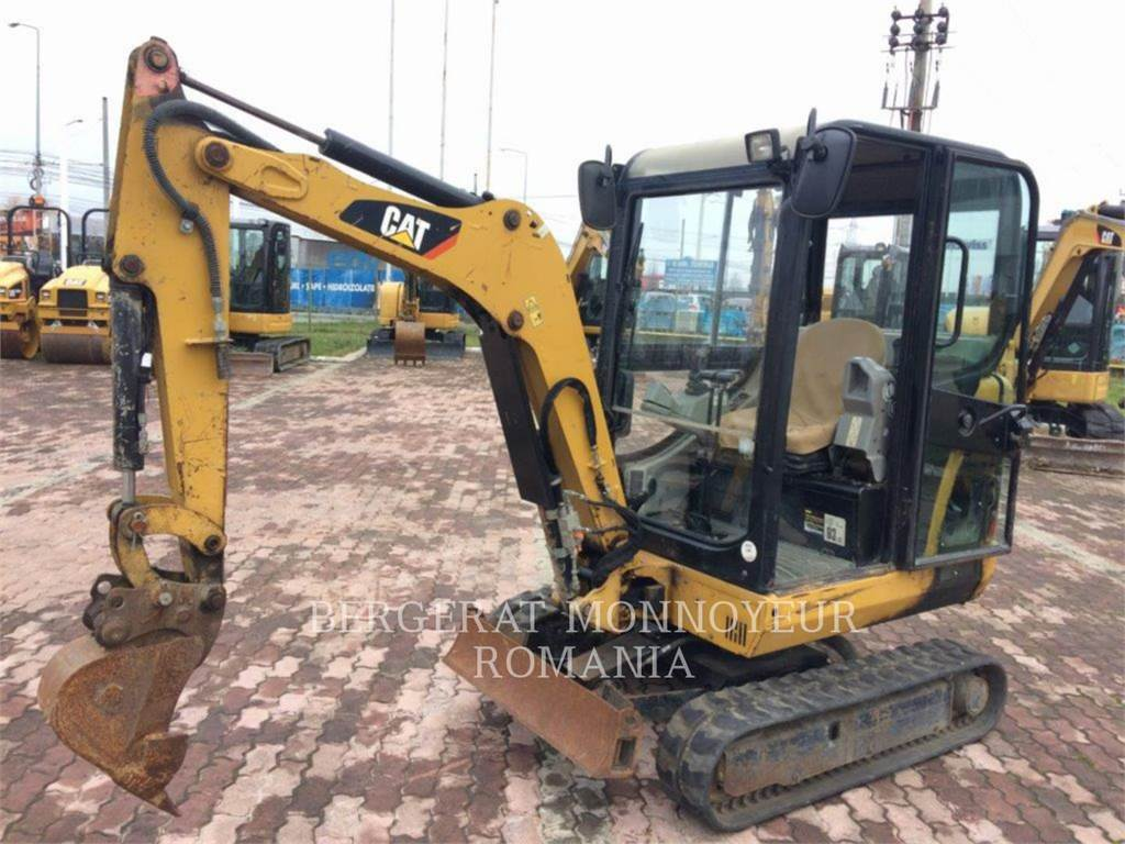 Caterpillar 301.8 C, Crawler Excavators, Construction
