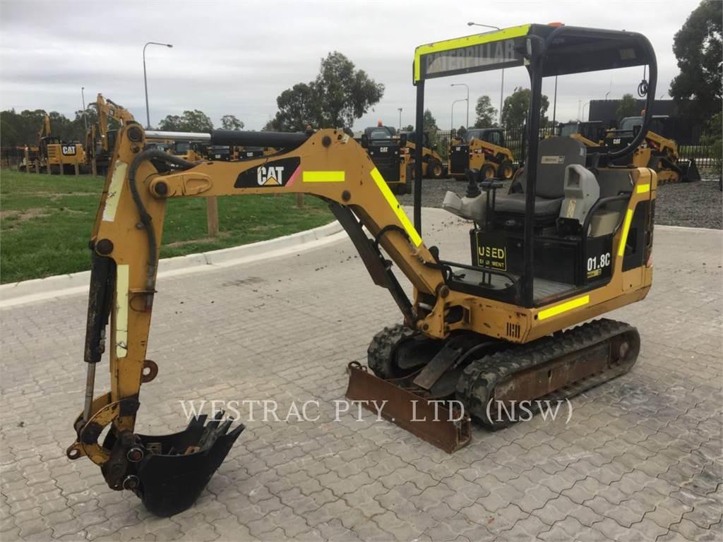 Caterpillar 301.8C, Crawler Excavators, Construction