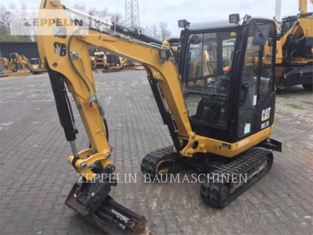 Caterpillar 302.2D, Crawler Excavators, Construction