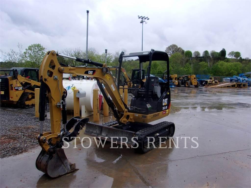 Caterpillar 302.4, Crawler Excavators, Construction
