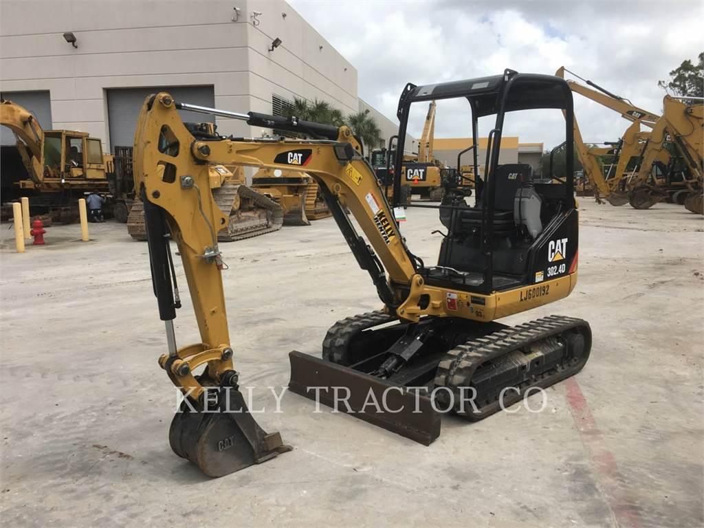 Caterpillar 302.4D, Crawler Excavators, Construction