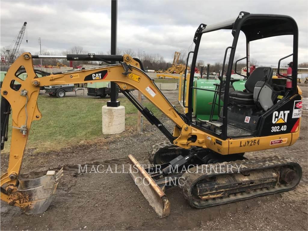 Caterpillar 302.4D, Raupenbagger, Bau-Und Bergbauausrüstung