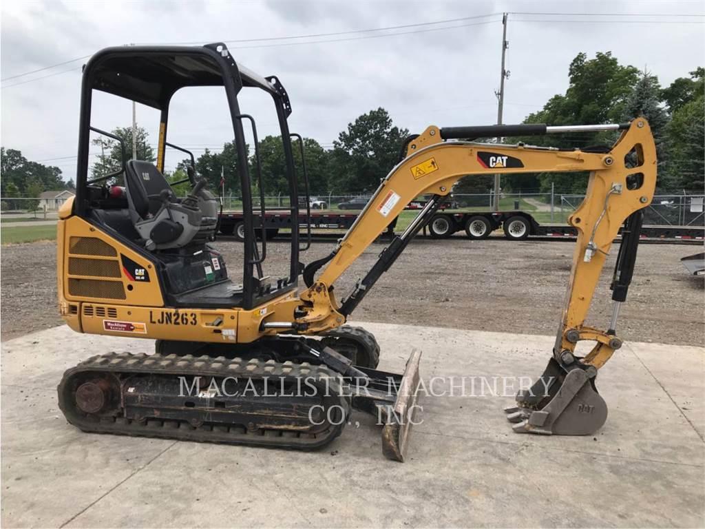 Caterpillar 302.4D, Excavadoras de cadenas, Construcción