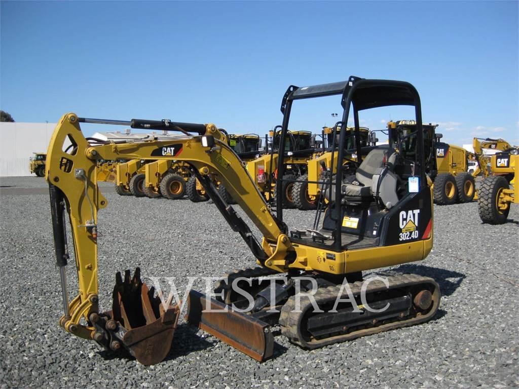 Caterpillar 302.4D, Excavatoare pe senile, Constructii