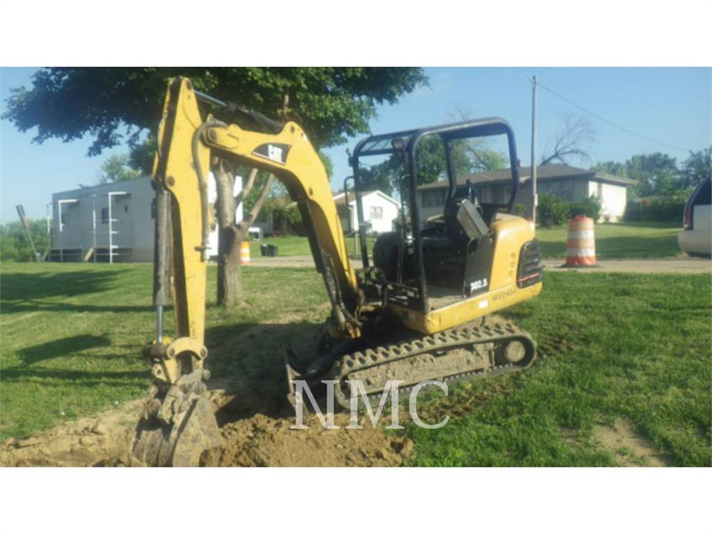 Caterpillar 302.5, Escavadoras de rastos, Equipamentos Construção
