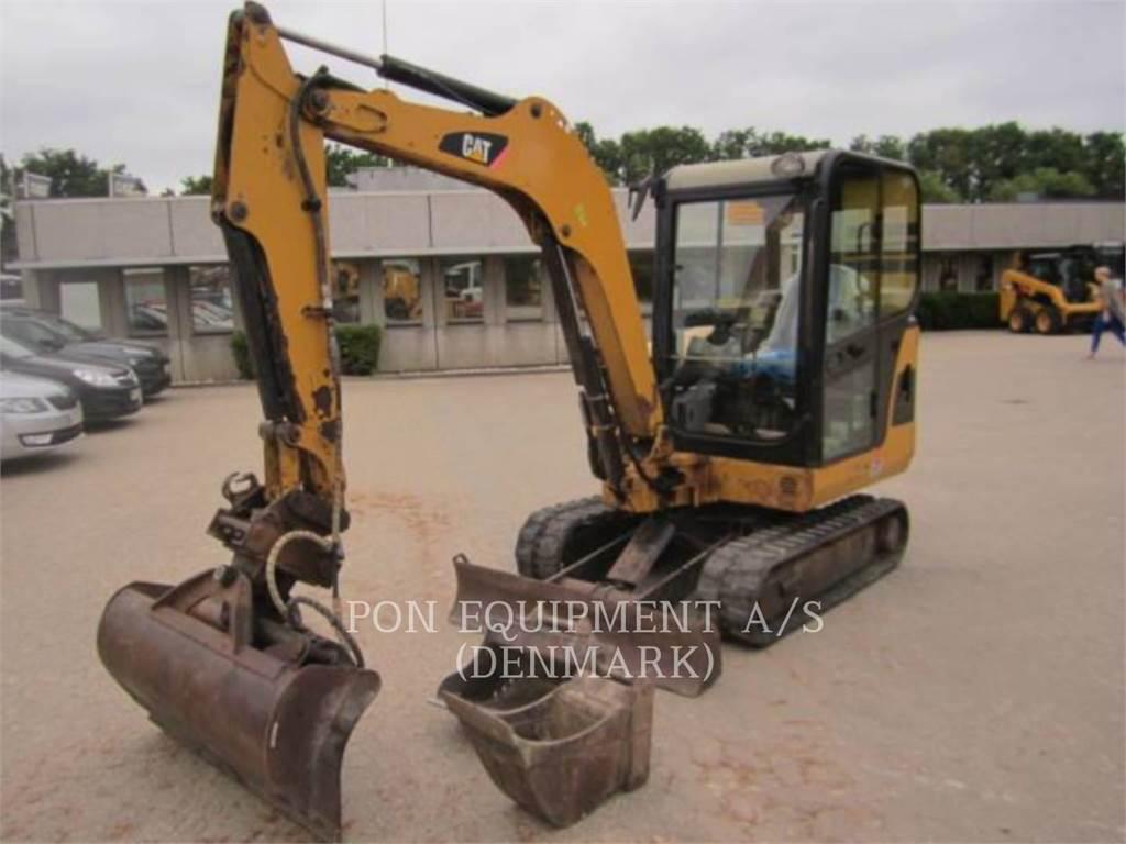 Caterpillar 302.5C, Escavadoras de rastos, Equipamentos Construção