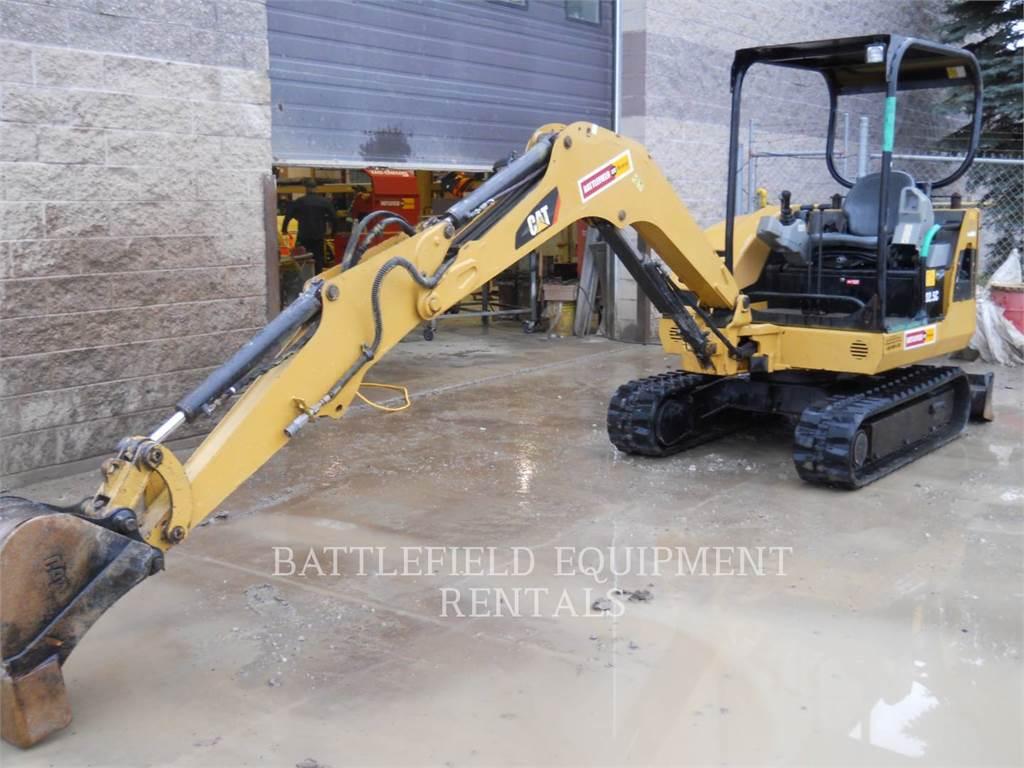 Caterpillar 302.5C, Raupenbagger, Bau-Und Bergbauausrüstung