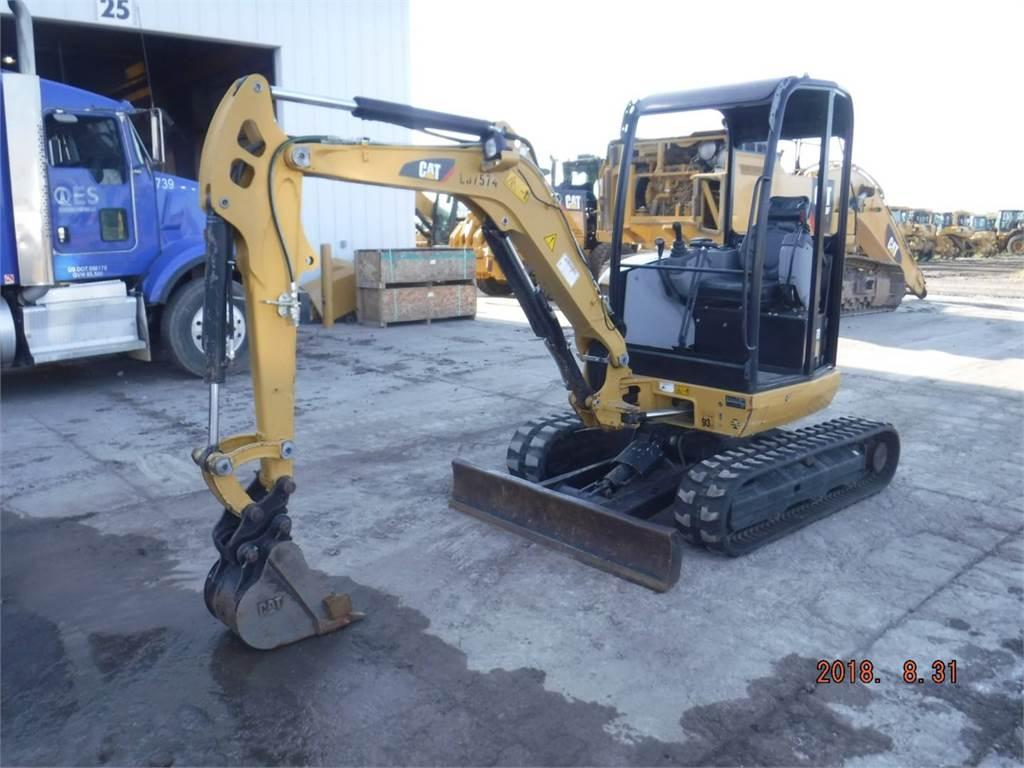 Caterpillar 302.7 D CR, Escavadoras de rastos, Equipamentos Construção