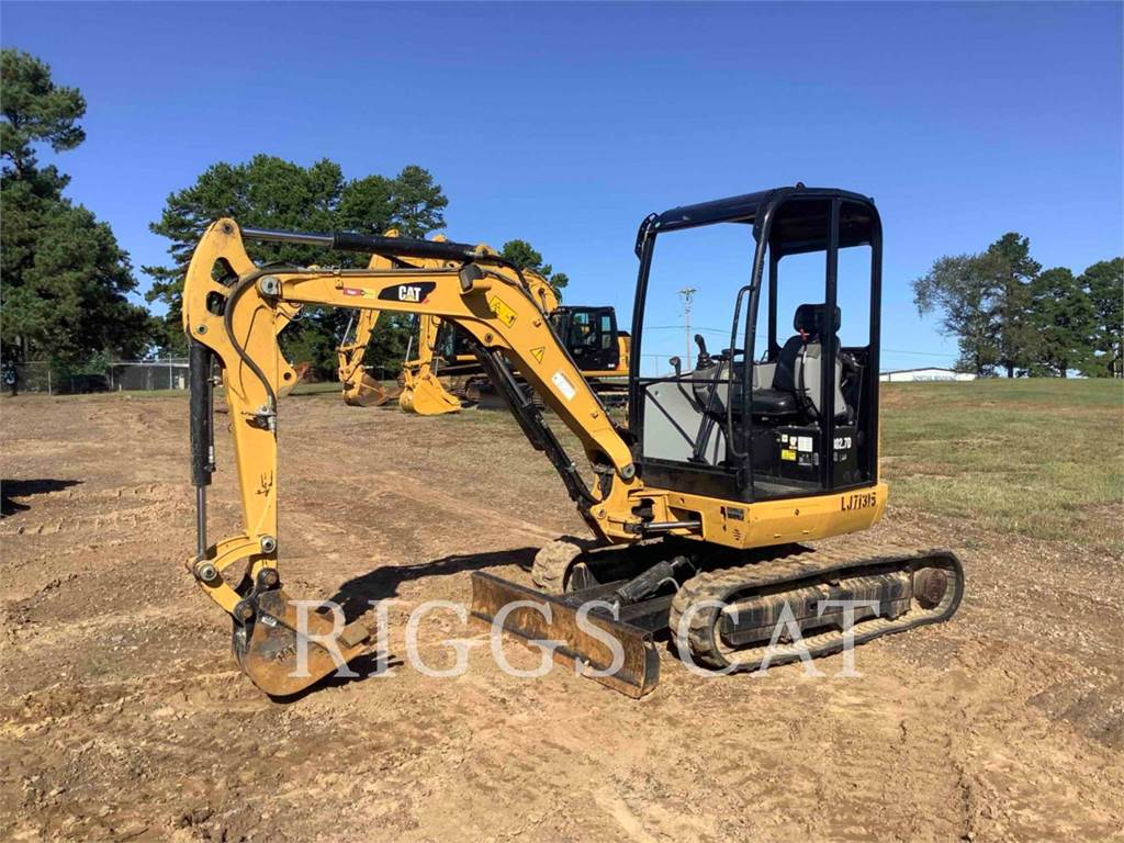 Caterpillar 302.7D, Crawler Excavators, Construction