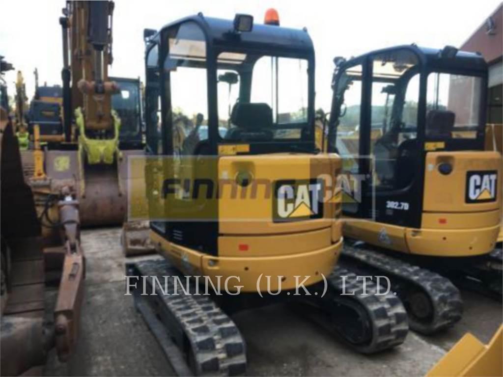 Caterpillar 302.7D CAB, Escavadoras de rastos, Equipamentos Construção