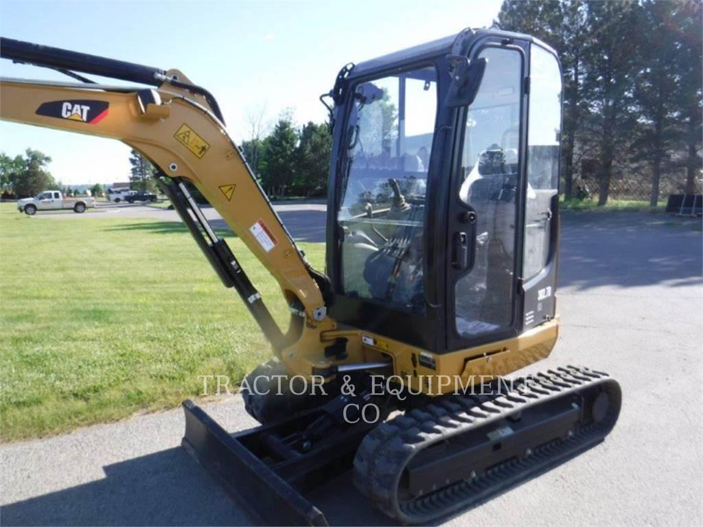 Caterpillar 302.7D CR, Escavadoras de rastos, Equipamentos Construção
