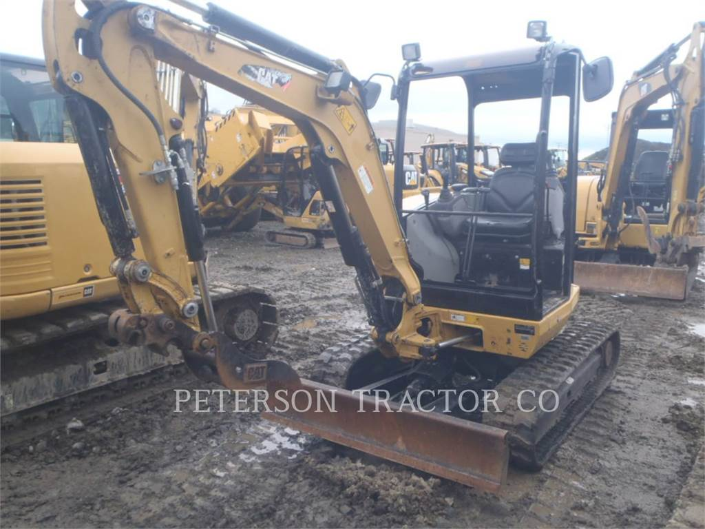 Caterpillar 302.7D CR, Crawler Excavators, Construction
