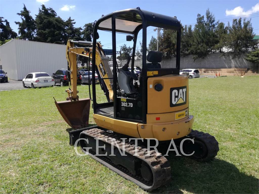 Caterpillar 302.7DCR, Crawler Excavators, Construction
