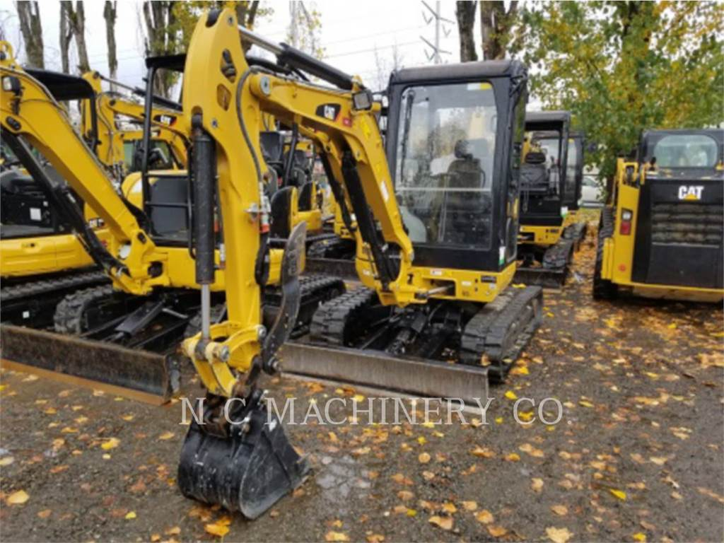 Caterpillar 302.7DCR, Crawler Excavators, Construction