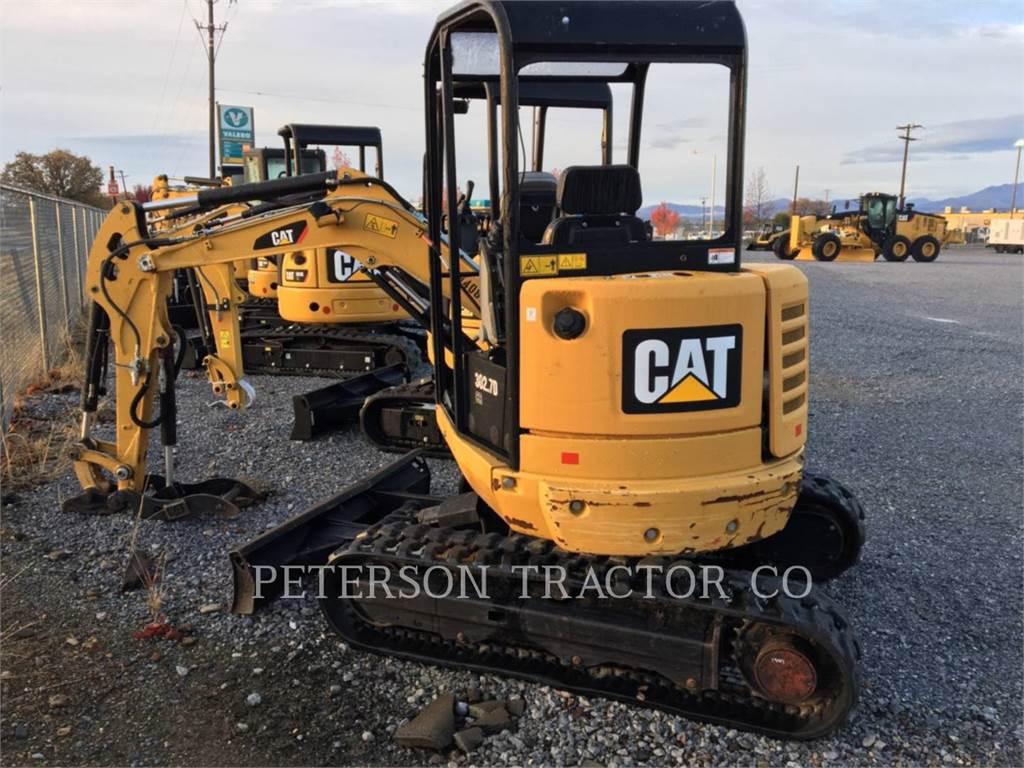 Caterpillar 302.7DCR, Escavadoras de rastos, Equipamentos Construção