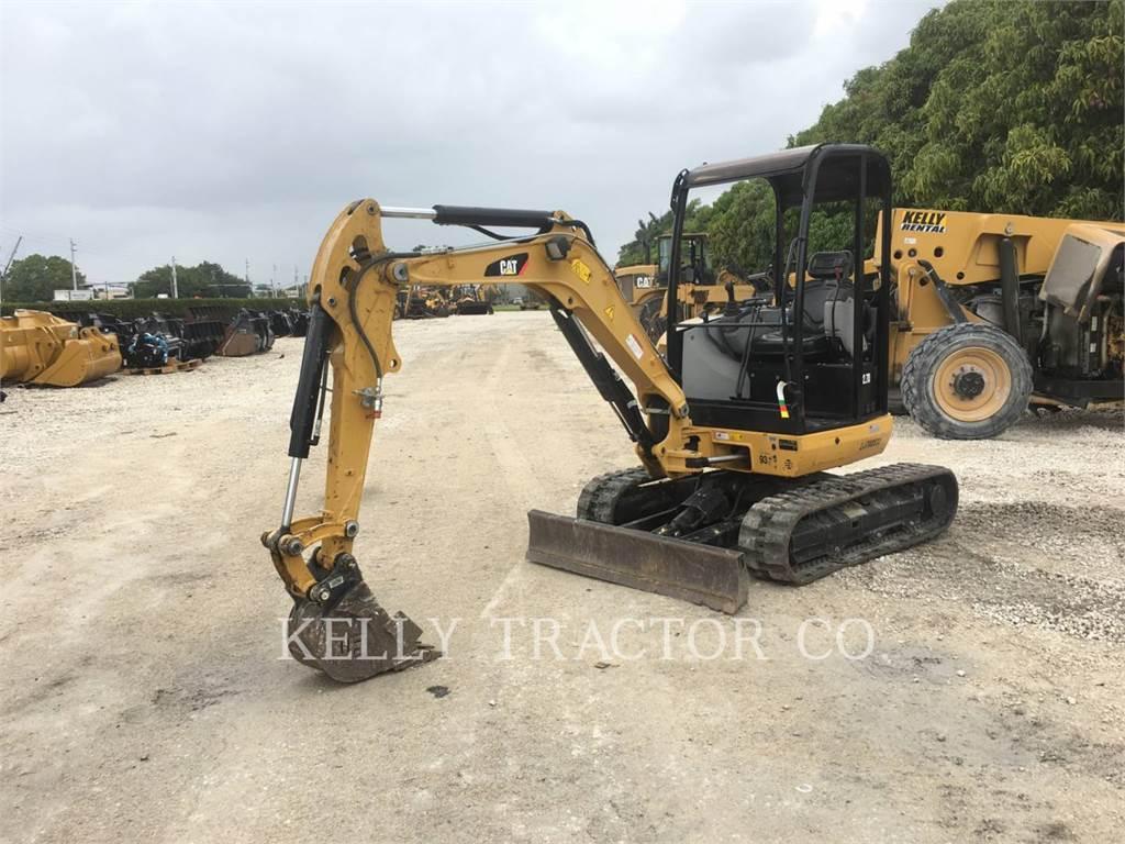 Caterpillar 302.7DCR, Pelle sur chenilles, Équipement De Construction