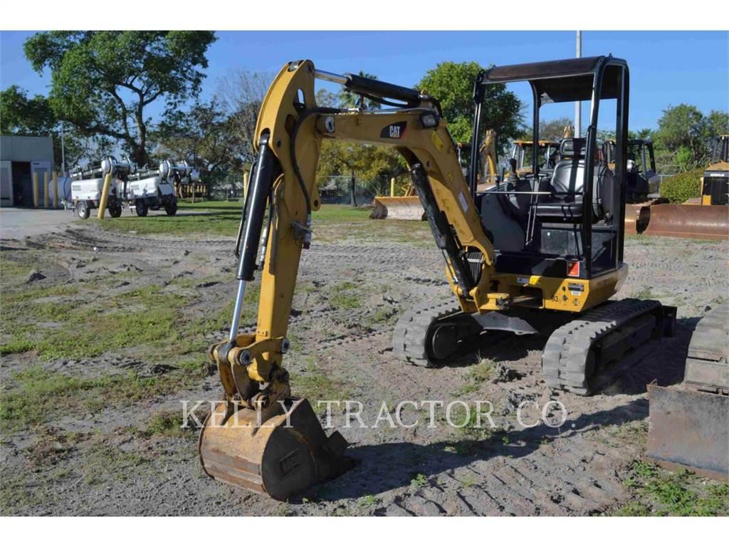 Caterpillar 302.7DCR, Excavadoras de cadenas, Construcción