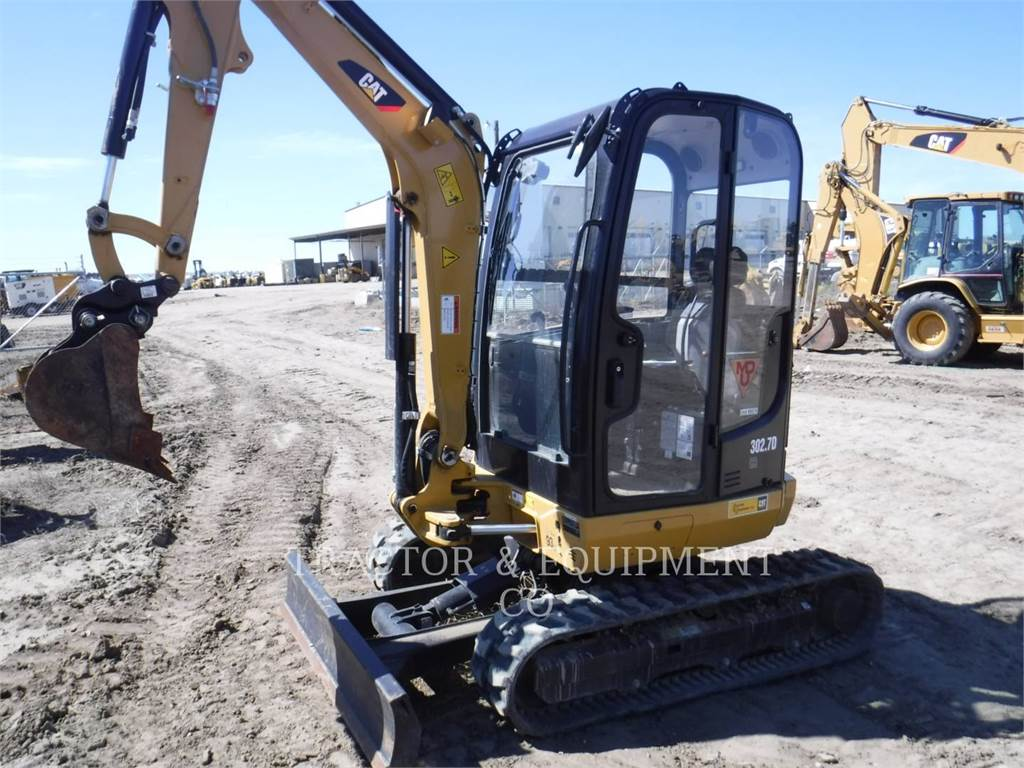 Caterpillar 302.7DCRCB, Crawler Excavators, Construction